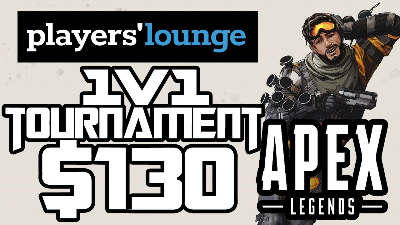 $130 Tournament Win!!!! Player's Lounge 1v1 Tourney: Apex Legends