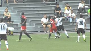 Cimarron FC vs Forza FC, Philippines UFL League 2013 First Half(06/04/2013)