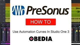How to use Automation Curves in Studio One 3