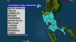 QRT: Weather update as of 5:59 p.m. (May 24, 2019)