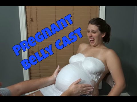 pregnant belly casting