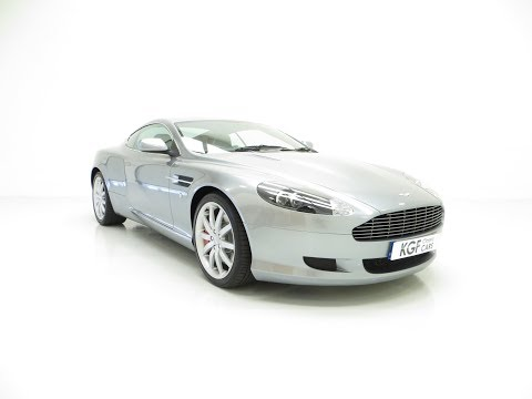 A Thoroughbred Aston Martin DB9 With Full Main Dealer History And 10,920 Miles - SOLD!