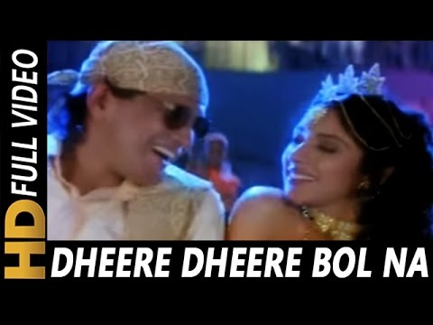 Dheere Dheere Bolna | Mohammed Aziz, Kavita Krishnamurthy | Angaara 1996 Songs | Mithun Chakraborty