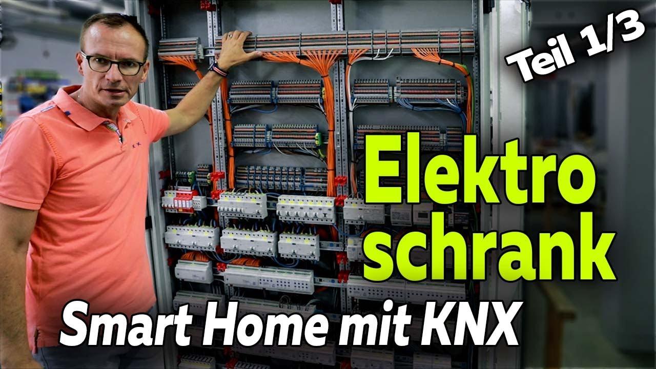 Elektroschaltschrank im KNX Smart Home: Aufbau und