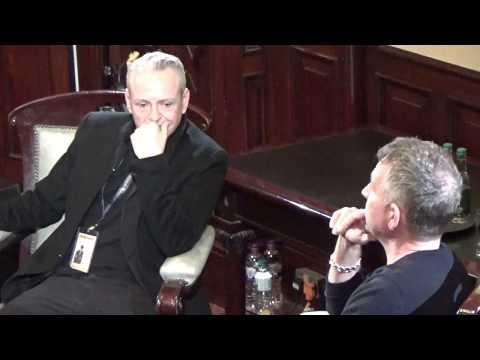 Craig Conway and Sean Pertwee Q&A at Newcastle International Film Festival