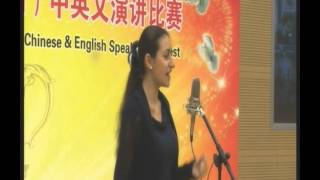 Best Speech Performance (SINOPEC) -  by Victoria Pirumova
