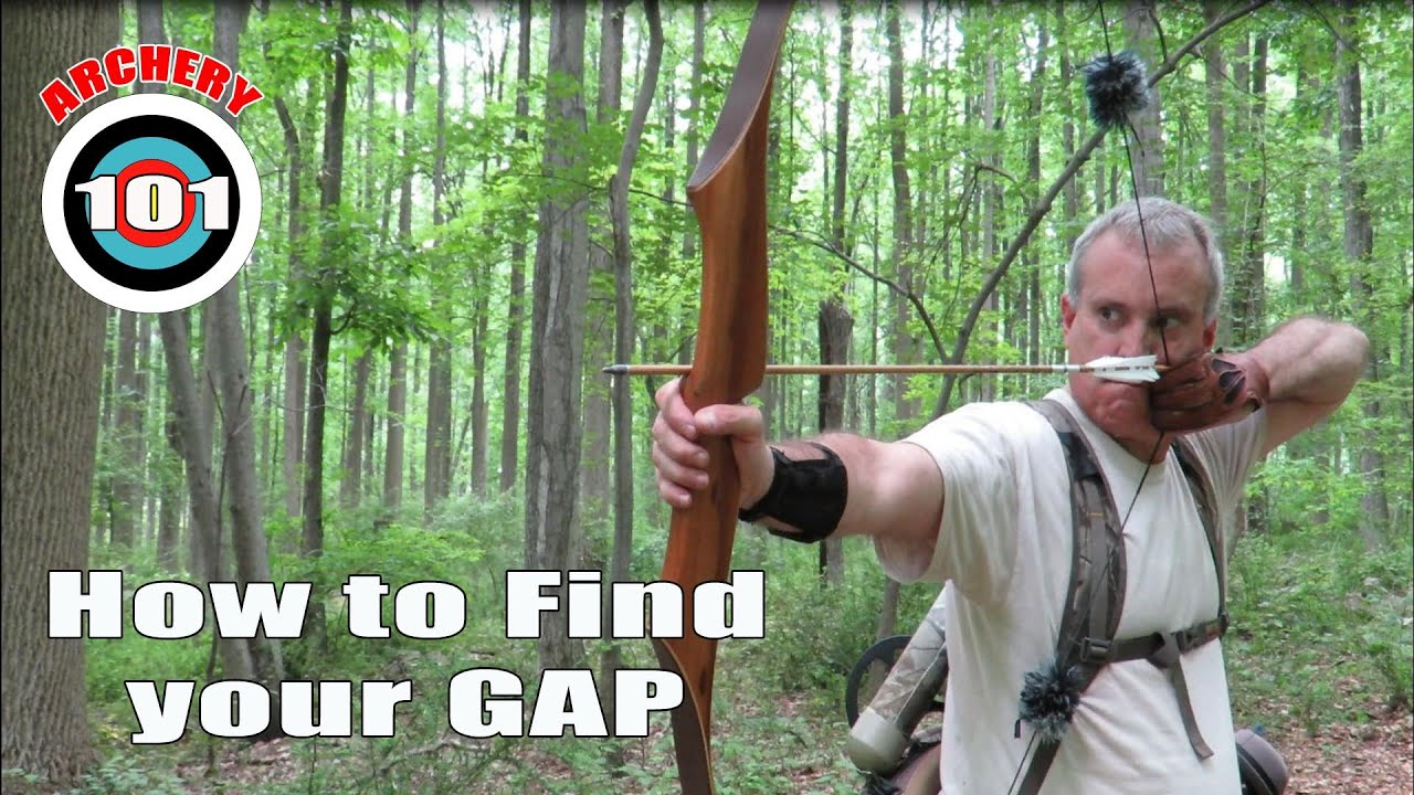 Traditional Archery - How to find your Gap