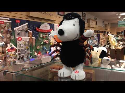 Hallmark Halloween 2018 Itsy Bitsy Snoopy