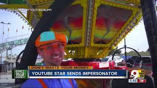 YouTube star Blippi sends impersonator on tour