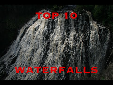 Top 10 Tasmanian Waterfalls