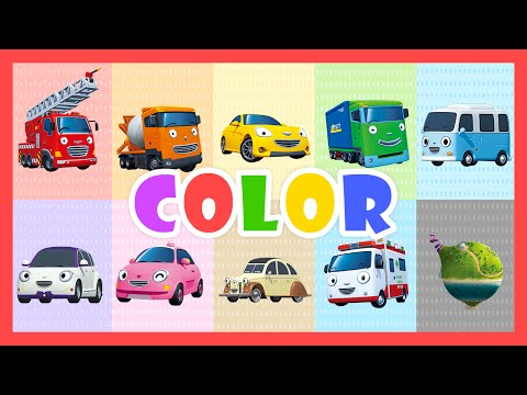 Color Song - Learn colors with Tayo the Little Bus