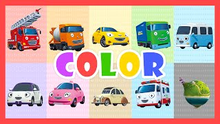 Color Song - Learn colors with Tayo the Little Bus(Let's learn colors with cars and buses! This super simple color song teaches colors to babies and kids all over the world. Let's sing-along together and learn Red ..., 2016-02-12T07:17:44.000Z)