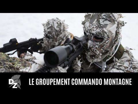 Le groupement commando montagne