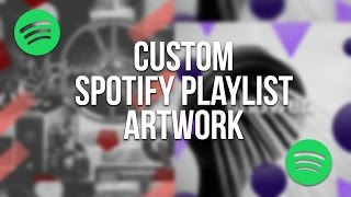 How to Design Spotify Playlist Art (Spotify-Inspired Design Tutorial!) | SoleilTech