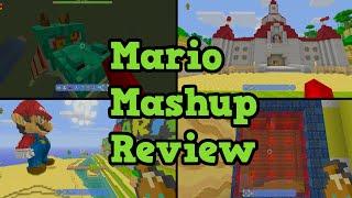 Minecraft Wii U Super Mario Mashup Pack Review