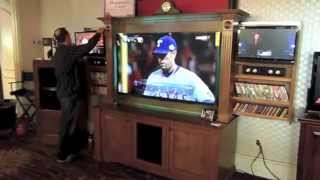 3 Tv Entertainment Wall Unit - Sports Lovers Dream