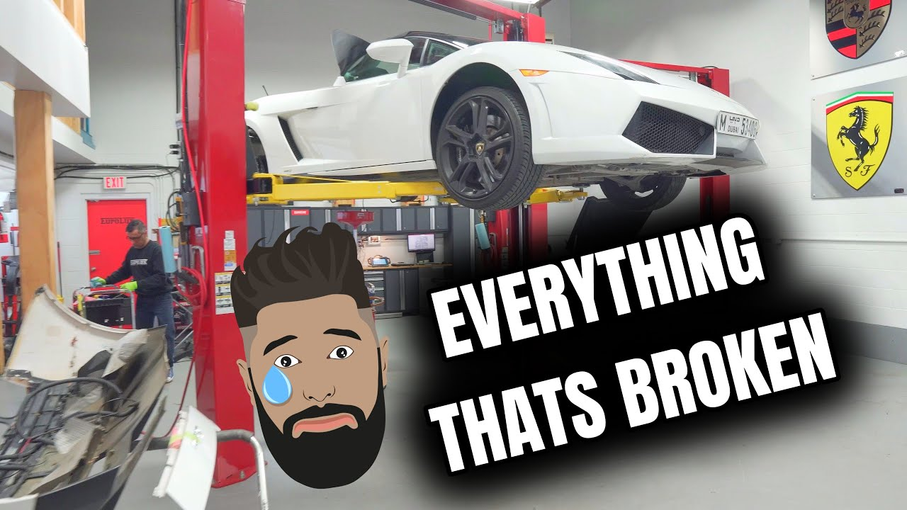The Problem With Owning A Lamborghini **Everything That's Broken**