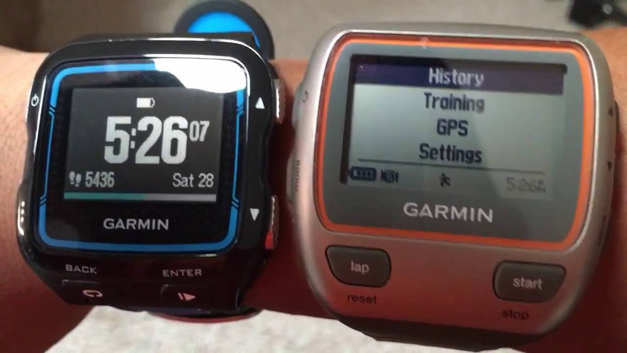 how to save run on garmin 310xt