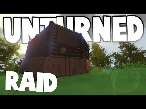 AMAZING CLAN RAID ~ Hidden Loot Room!! ~ Unturned Base Raids