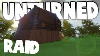 AMAZING CLAN RAID ~ Hidden Loot Room!! ~ Unturned Base Raids