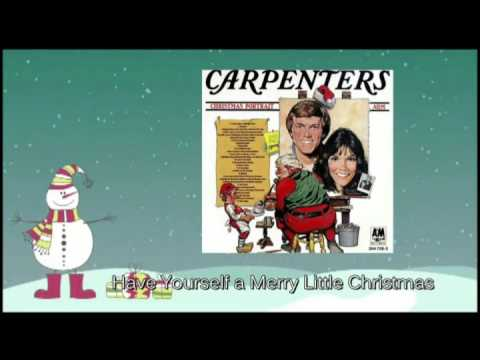 Carpenters - Have Yourself a Merry Little Christmas - YouTube
