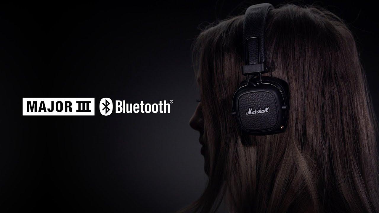Marshall - Major III Bluetooth Headphones - Full Overview English
