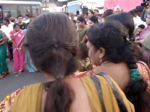 Batukamma event at Tankbund Hyderabad 23 Oct 2012