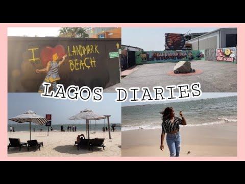 LAGOS DIARIES #9: A Day At LANDMARK BEACH In Lagos,Nigeria|| A quick tour of my favorite beach #vlog
