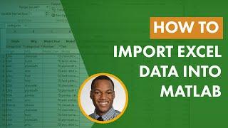 How to Import Ex¢el Data into MATLAB