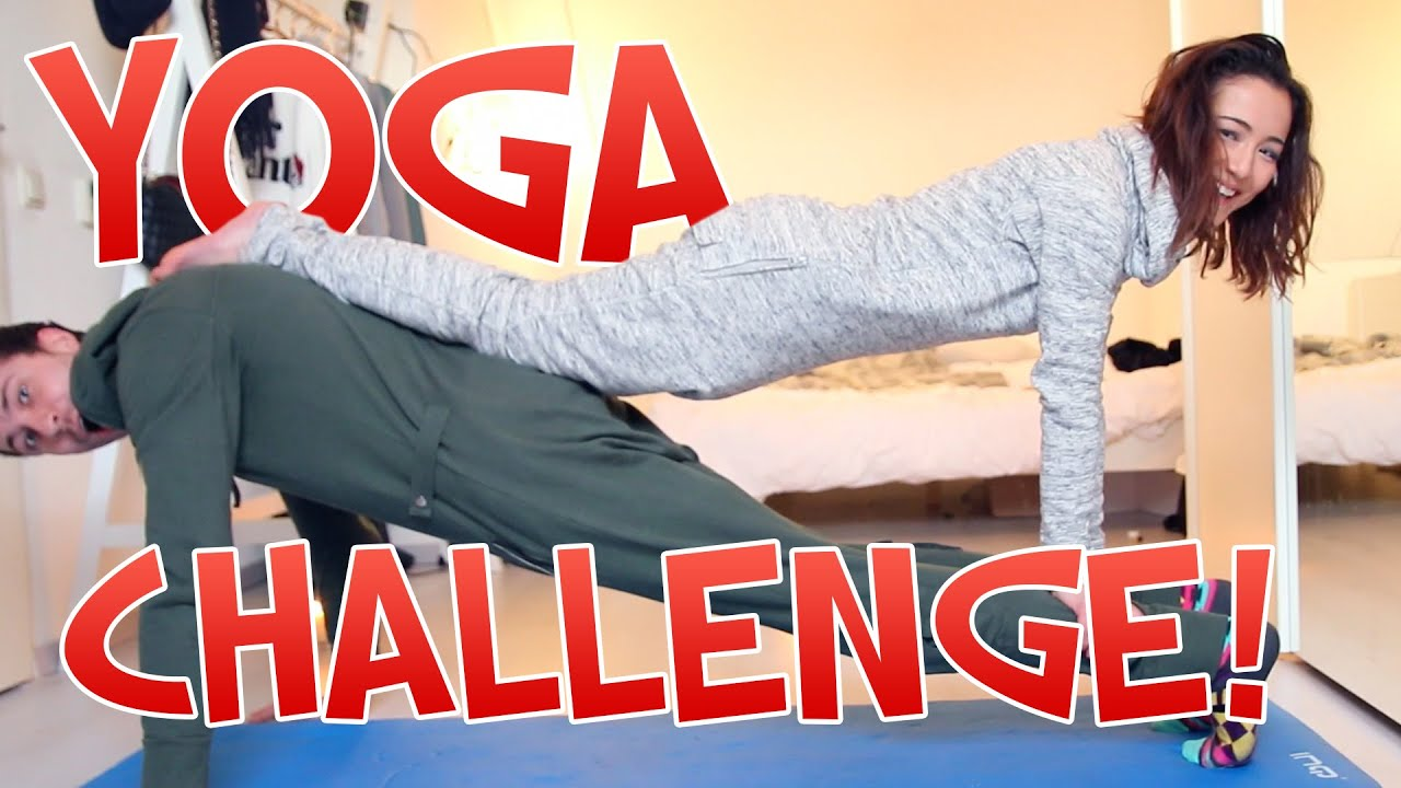 DE YOGA CHALLENGE! Met Jiami   #Furbruari - YouTube