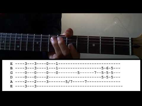 Play Ball - AC/DC - Guitar Lesson (All Parts!)