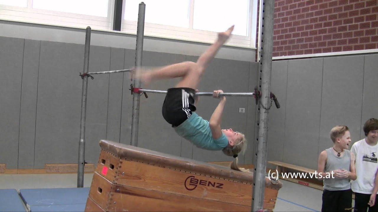 Teil 1 Turn10 Lehrvideo Reckturnen Lernen Anfänger Turnen Im Schulsport