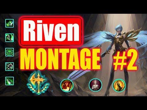 Riven  Montage #2  (inFamous Zion) | Best Riven Plays | League of Legends