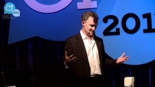 "Michael Rennie speaks at Ci2011 - ""Will a Super-Connected World Make Us Happier?"""