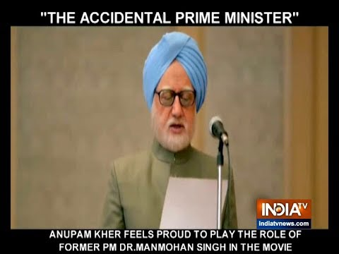 Anupam Kher on `The Accidental Prime Minister`: I feel proud to play Dr Manmohan Singh