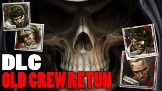 Black Ops 2 Zombies Original Characters Return? New Crew Die!? DLC Map 4 Easteregg Theory