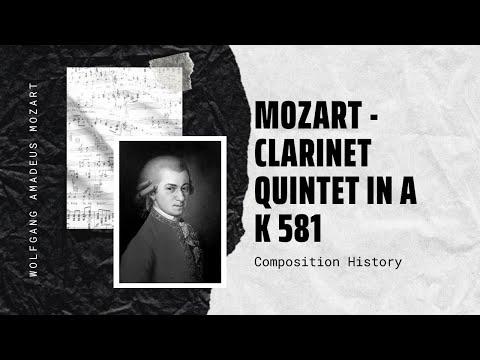 Mozart - Clarinet Quintet in A K 581