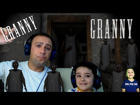 Granny's Horror Game | DJ plays the scary game for the first time || Tubers FunFam