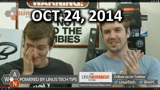 The WAN Show - iPhone on Fire? Ass Creed Unity Crazy PC Requirements - October 24, 2014