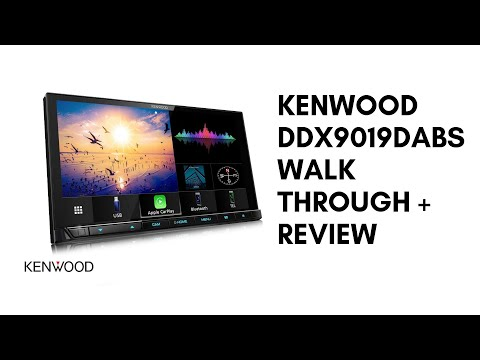 Kenwood DDX9019DABS Walkthrough + Review