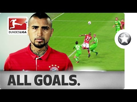 Arturo Vidal - All Goals For FC Bayern