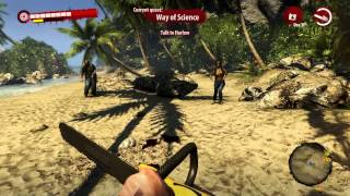 Dead Island Riptide Gameplay Mission 1 AMD R9 270X 2GB FullHD , Max Settings Ultra Details