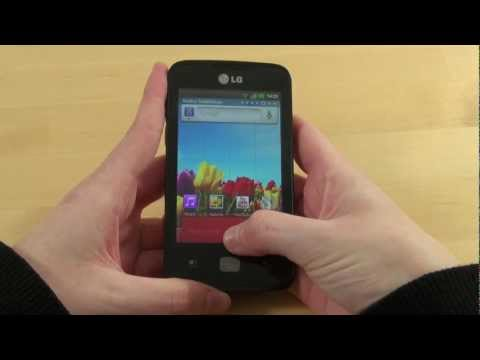 LG Optimus Hub Test Bedienung