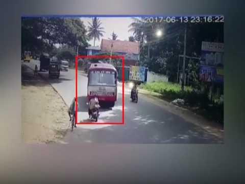 Dangerously driven KSRTC bus takes life of a biker near Mysore  (video)