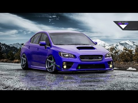 virtual tuning photoshop 2016 subaru impreza wrx sti. Black Bedroom Furniture Sets. Home Design Ideas