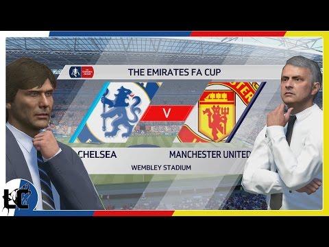 The Emirates FA Cup Final | Chelsea Vs. Manchester United | FIFA 17