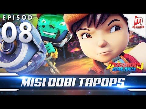 BoBoiBoy Galaxy EP08   Misi Dobi TAPOPS - (ENG Subtitle)