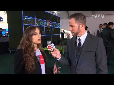 AMA 2012, H2O Ensamble Performance, Red Carpet Interview