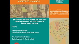 Estado de excepción y derechos humanos ante la pandemia de Covid-19 en la Península de Yucatán [445]