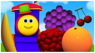 บ๊อบรถไฟ | ผลไม้สำหรับเด็ก | Bob Train Fruits | Educational Video | Learn Fruits with Bob Train